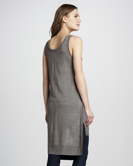Louise High-Low Sleeveless Sweater
