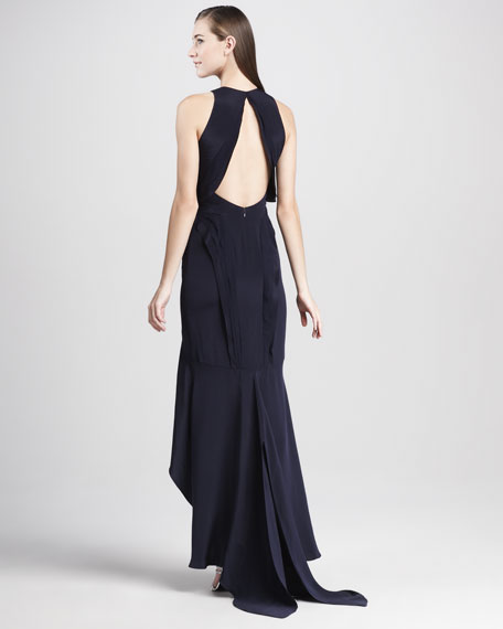 Tiered High-Low Gown