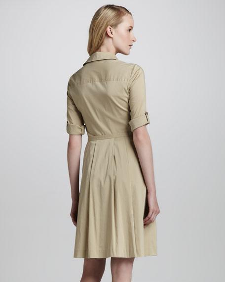 Blythe Twill Shirtdress