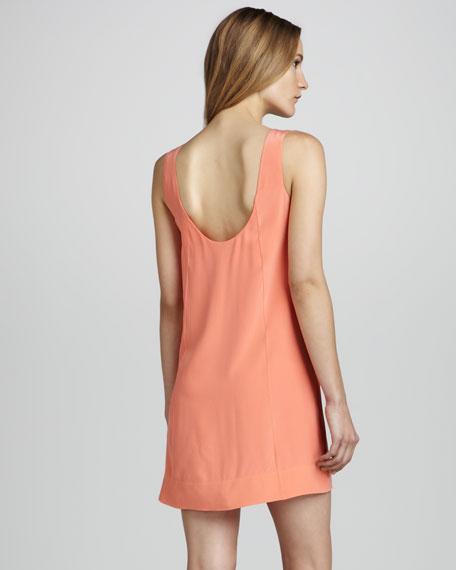 Dawna Sleeveless Silk Dress