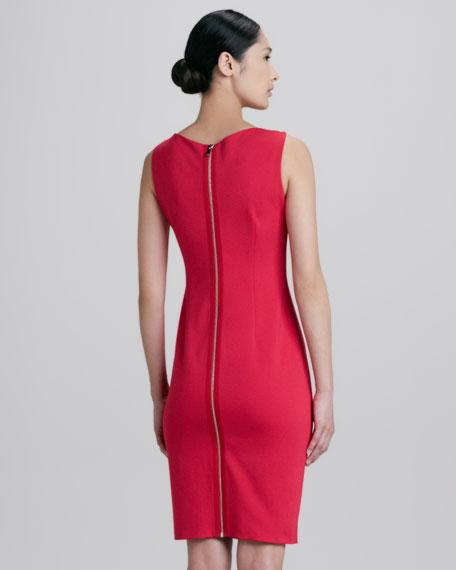 Patrina Zipped Back Sheath Dress