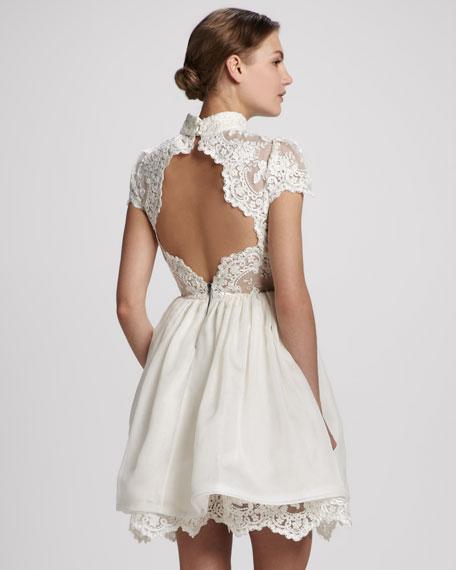 Fyona Lace-Bodice Party Dress