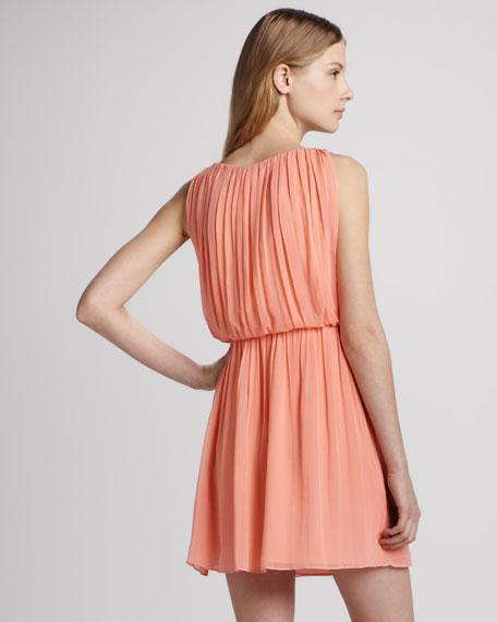 Mary Blouson Tank Dress