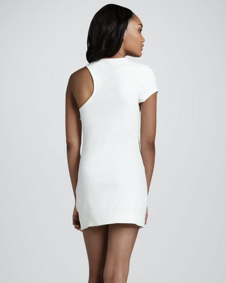 Chroma Laurette Single-Sleeve Dress