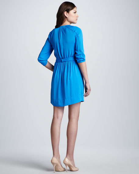 Apona Tie-Neck Dress