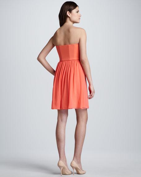 Asti Strapless Minidress
