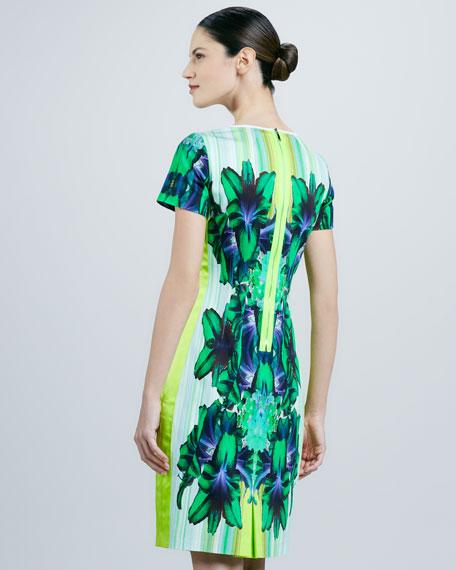 Angie Printed Sheath Dress