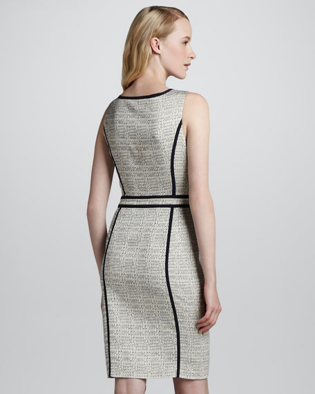 Daron Sleeveless Sheath Dress