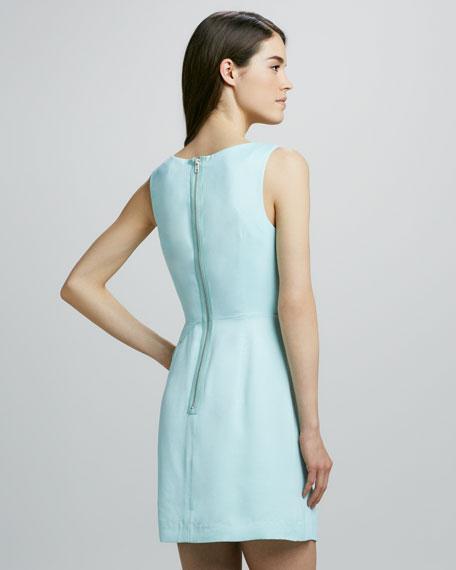 Charlotte Drape-Peplum Dress