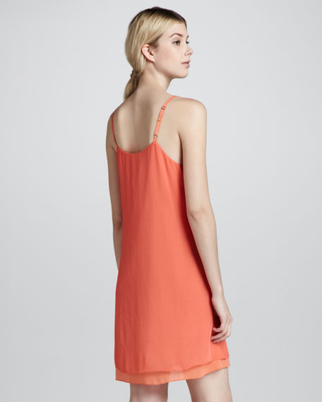 Cammie Double-Hem Tank Dress