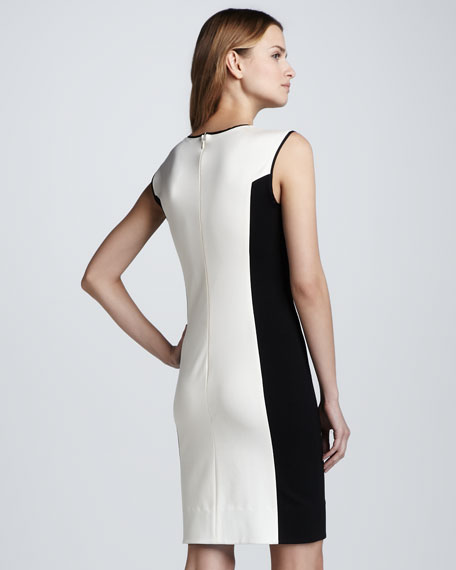 Sleeveless Ponte Knit Dress