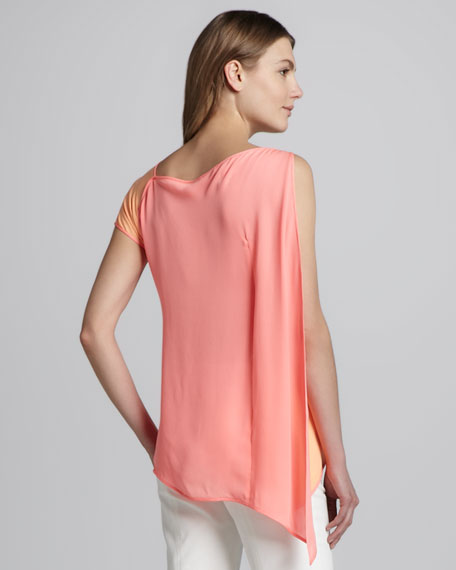 Asymmetric Contrast-Back Top