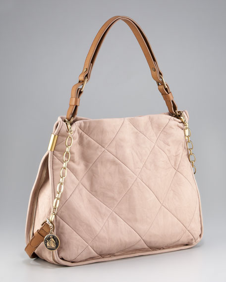 Quilted Amalia Bucket Bag