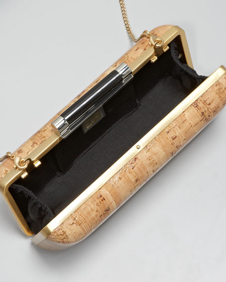 Cork Tonda Clutch Bag
