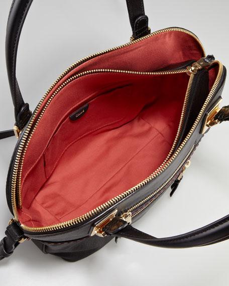 Angie Large Shoulder Bag, Black