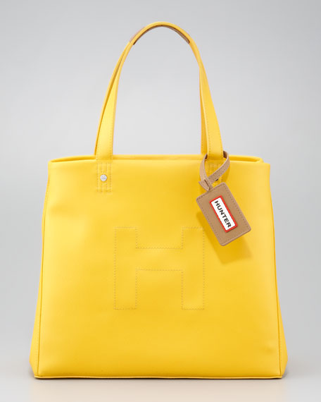Short Original Tote Bag, Rubber