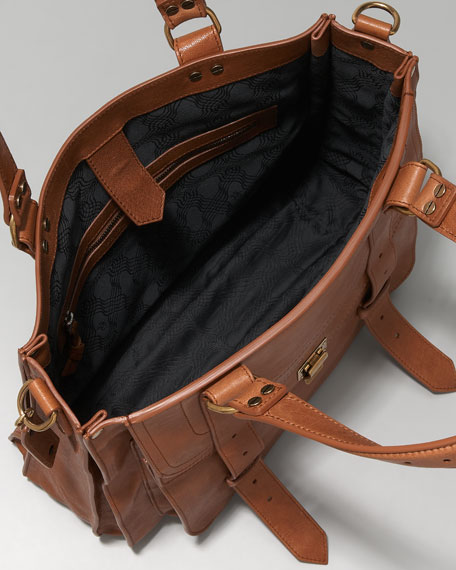 PS1 Tote Bag, Saddle