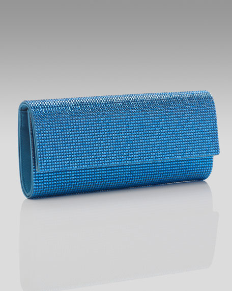 Ritz Fizz Clutch, Capri Blue