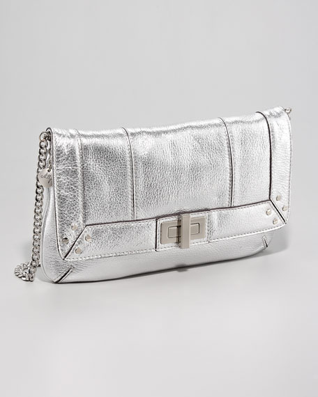 Elle Metallic Clutch