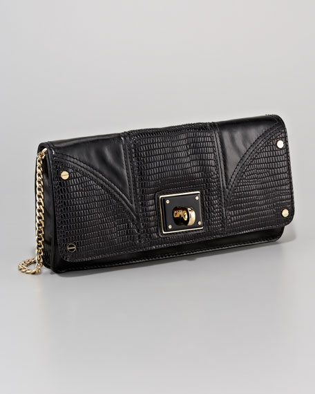 Gabriella Embossed Clutch