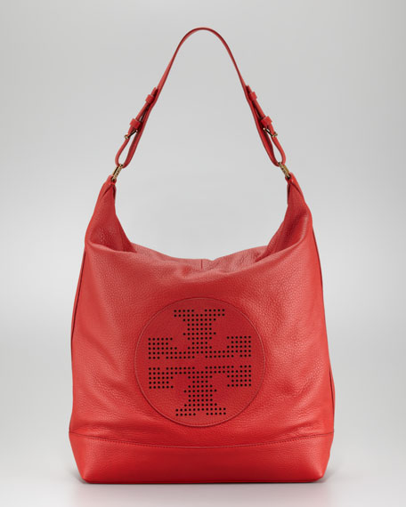 Kipp Perforated Hobo Bag
