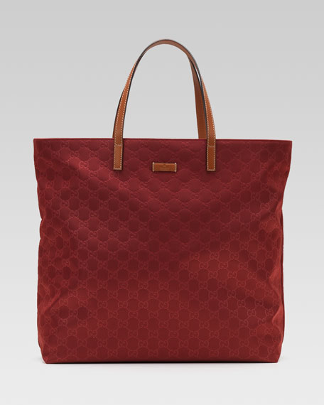 Nylon Guccissima Tote Bag
