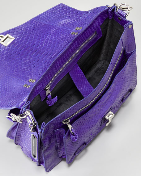 PS1 Python Shoulder Bag, Medium