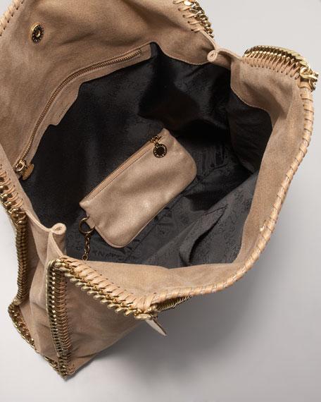 Classic Falabella Metallic Tote Bag
