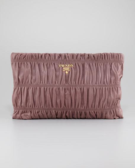 Napa Gaufre Clutch Bag