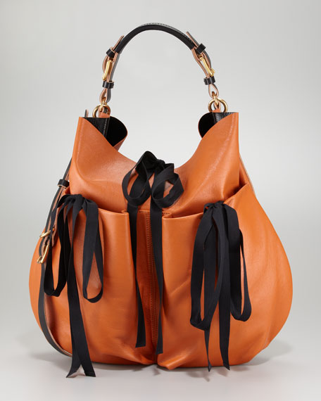 Lambskin Shoulder Bag