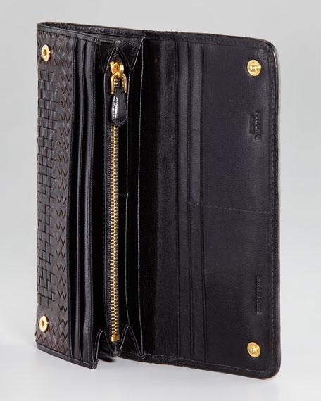 Madras Flap Wallet, Moro/Nero