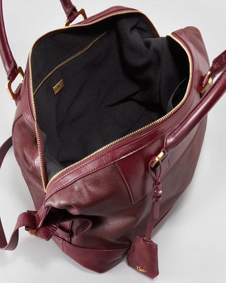 Drew Goatskin Satchel Bag