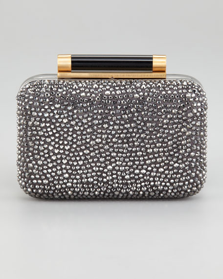 Tonda Small Crystal Clutch Bag