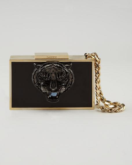 Tiger Box Clutch Bag