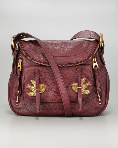 Petal To The Metal Natasha Crossbody Bag