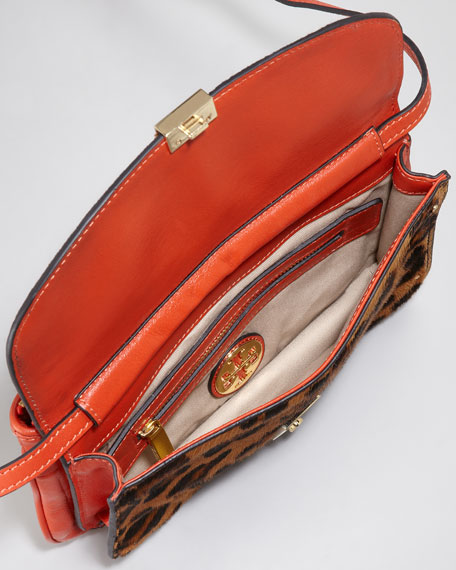 Priscilla Calf Hair Clutch Bag