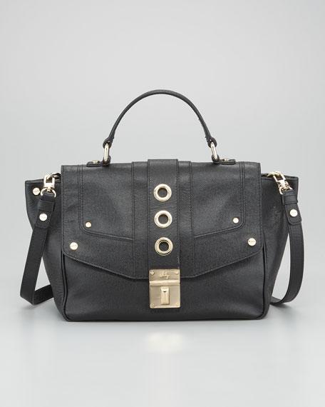 Harper Flap Satchel Bag