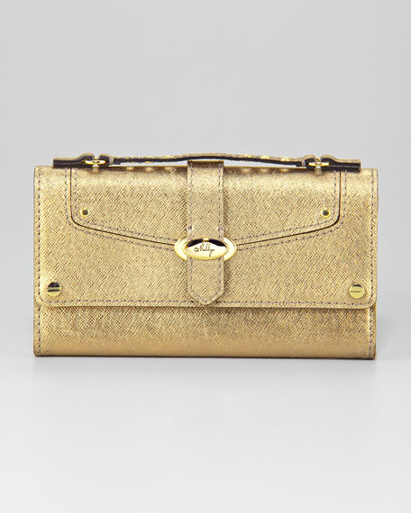 Harper Flap Clutch Bag
