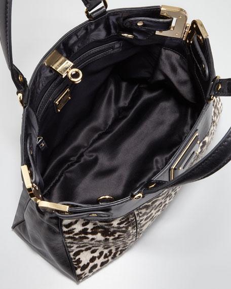 Amelia Calf Hair Tote Bag