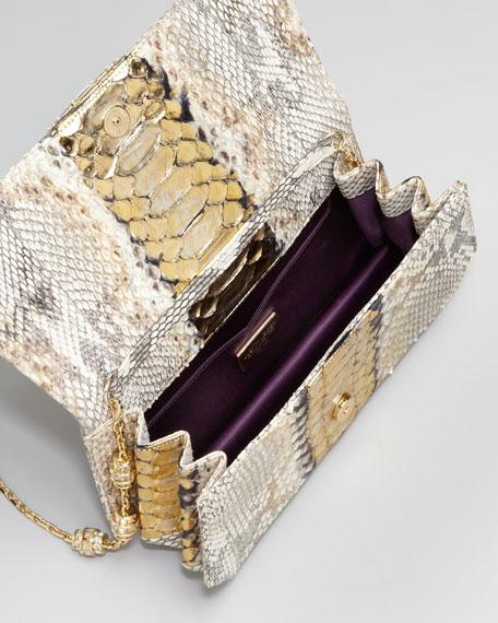 Eidi Python Clutch Bag