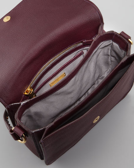 Madras Jewel Crossbody Bag, Bordeaux