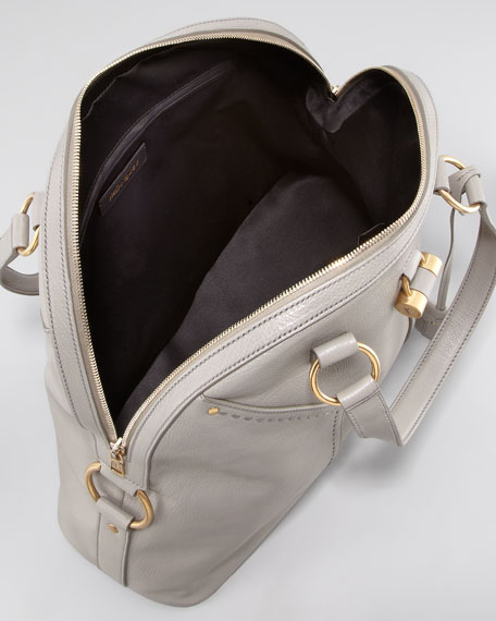 Muse Oversized Leather Tote Bag