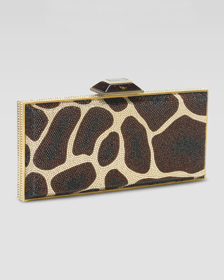 Giraffe Crystal Covered Minaudiere