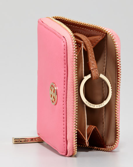 Robinson Zip Coin Case, French Rose