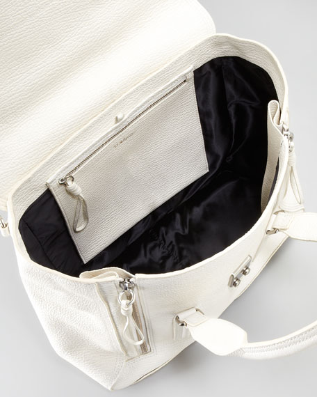 Pashli Zip Satchel Bag