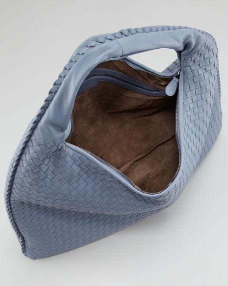 Maxi Veneta Hobo Bag, Blue