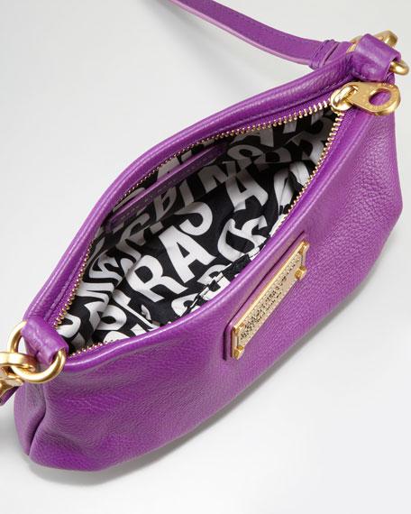 Classic Q Percy Crossbody Bag, Violet