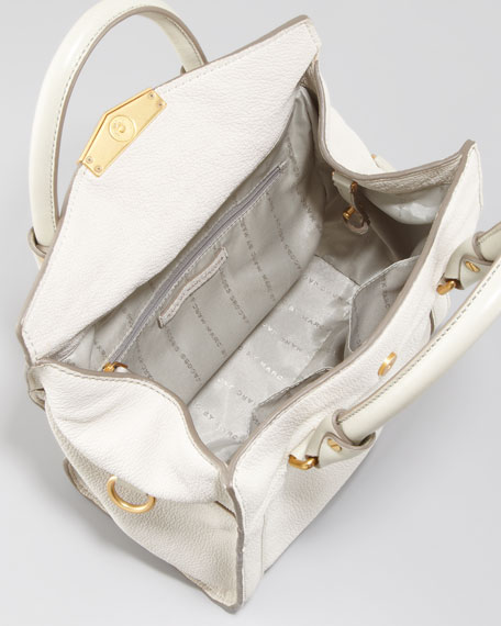 Belmont Melly Mini Satchel Bag, Oyster