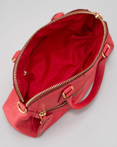 Globetrotter Mini Rei Satchel Bag, Lobster