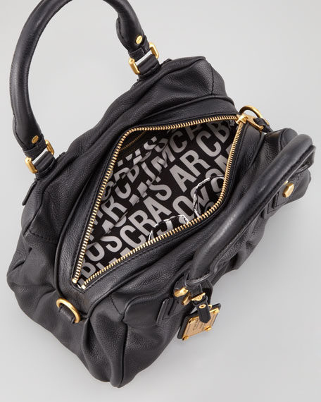 Classic Q Baby Groovee Satchel Bag, Black